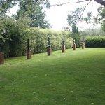 Statues in the garden