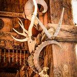 Skull decorations in Hidimba Temple
