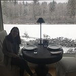 What a terrific stay at Ambraden Pond. Terrific hosts, delicious breakfast and bonus snowfall an