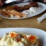 big breakfast & eggs benedict