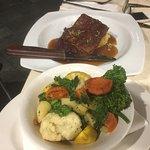 Pork Belly and veges