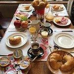 Frühstück: Im la Demi-Lune