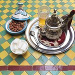 tea at the riad