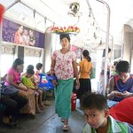 Yangon Circular Train Foto