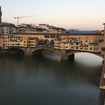 View of Ponte Vecchio from Presidential Suite