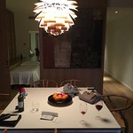 Dining room in Presidential Suite