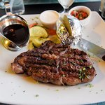 The Ribeye steak of restaurant Patagonia
