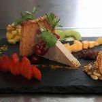 Foie gras de la ferme de la princesse. Produit de la région