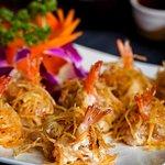 Japanese style prawns