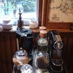 café et thé à disposition Réglisse & Pain d'Epices