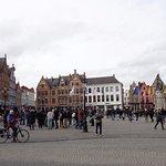 Bruges central square