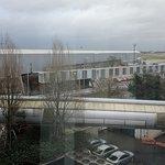King Executive Room: Airport Facing View, can see Runway 27L Threshold
