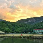Spectacular Sunset across Lake Lure!
