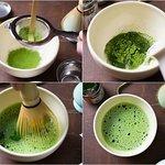 Matcha tea also available.