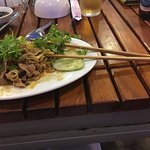 Lovely freshly cooked food. Even managed the chopsticks😀