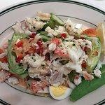 King Crab Louis salad