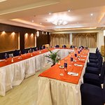 Conference arrangement at The Banquet of The Pearl hotel Kolkata