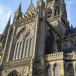 Le portail du Doyen Cathédrale Notre-Dame de Bayeux