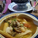 Soupe bœuf citronnelle