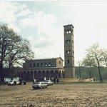 Kirche im ehemaligen Grenzstreifen nach 1990