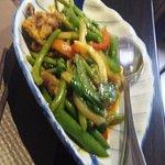 Anguille poivre vert et citronnelle