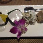 Assortiment de gâteaux thaï