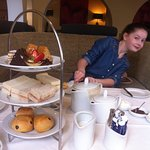 High Tea with my granddaughter