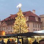 King Wenceslas square, night