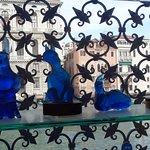 Glass statues
