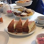 Our afternoon tea x