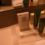 Queen Executive Room Plus: Amenities in Bathroom.