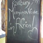 Photo de Mimi na Wewe...in Africa!