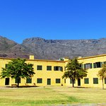 Table Mountain provides a beautiful backdrop to Castle of Good Hope