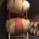 Wine cave tasting room