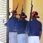 Guards with key to unlock the gate, Castle of Good Hope