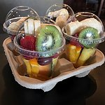 Fruit cups to go....cut fresh to order