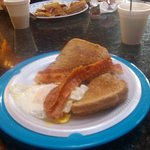 The world-famous $3.00 breakfast @ Sacajawea Inn