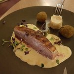 Canard sauce foie gras