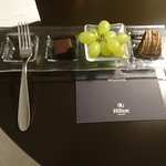 Welcome snack in room