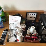 Room903 / superior / complimentary 4 nespresso capsules per day & a bottle of water