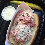 Amazing lobster roll ! Best lobster I've had on the north fork