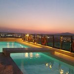 Roof top pool. not open when we were there, I dont beleive it is heated