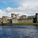 King John's Castle is a quiet 10 minute walk from the Absolute Hotel, Limerick.