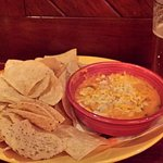 Special app: chicken cheese dip. Skip it. Too thick, bland.