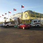 The Big Texan Outside
