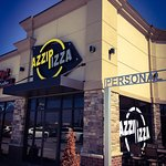 Azzip Pizza located on the north end of Green River Road.