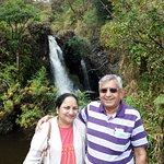 At water falls-road to HANA