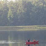 25 Acre spring fed and stocked lake, great for relaxation and recreation.