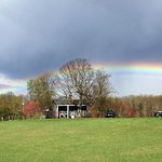 Rainbow over our historic Manor House