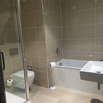 ensuite with bath and shower.